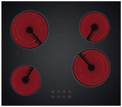 Встраиваемая варочная панель электрическая Simfer H60D14B001 Black