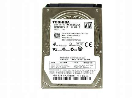 "Внутренний жесткий диск Seagate NBook HDD 2.5"" 160Gb (MK1655GSX)"
