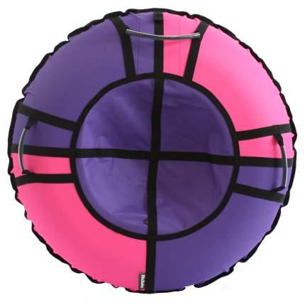 Тюбинг Hubster Хайп сиреневый-розовый 110 см