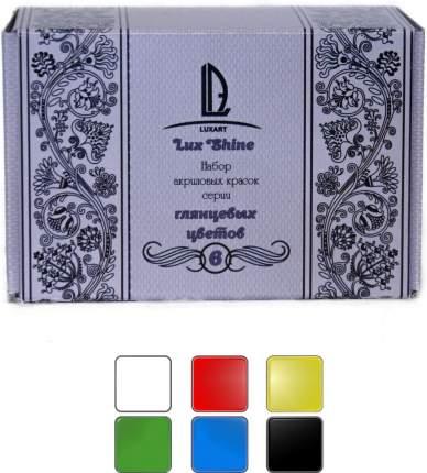 Акриловые краски LuxSet Shine 6 цветов