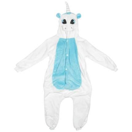 Пижама-кигуруми Lilkrok Голубой Единорог 136-145 см