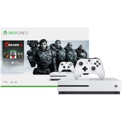 Игровая приставка Microsoft Xbox One 1 Tb White + Gears 5 (234-01030)