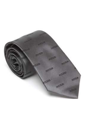 Галстук мужской MOSCHINO M00000010-MO серый