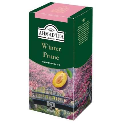 Чай черный Ahmad Tea зимний чернослив 25 пакетиков