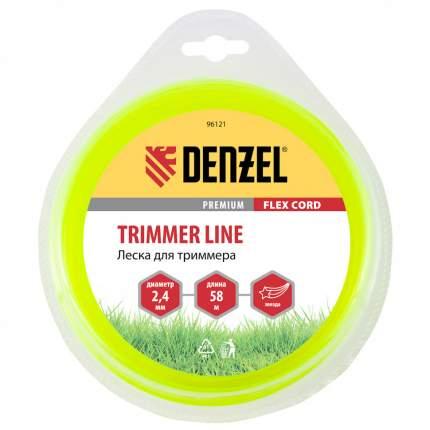 Леска для триммера DENZEL Flex cord 96121