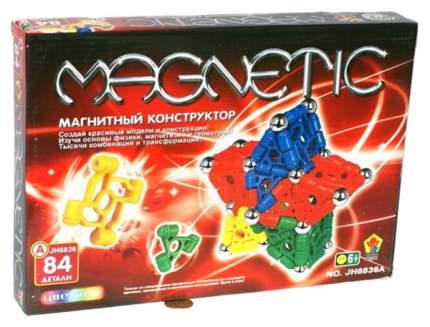 """Конструктор магнитный """"Магнетик"""", 84 детали"""