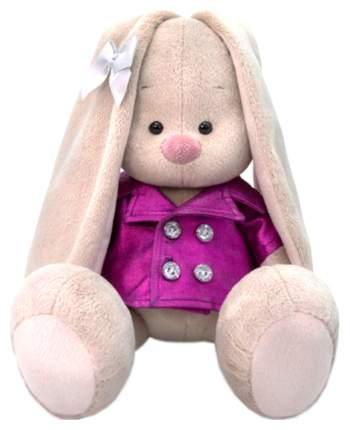 Мягкая игрушка BUDI BASA Зайка Ми в плащике, 18 см