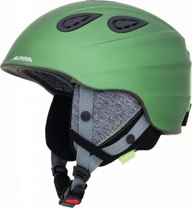 Горнолыжный шлем Alpina Grap 2.0 LE 2019, зеленый, L