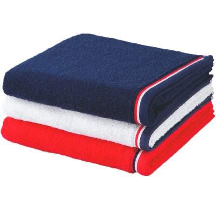 Полотенце 30x50см Move Athleisure 490гр/м2, цвет красно-серый