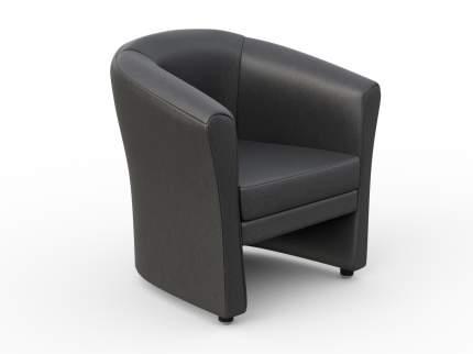 Кресло для гостиной CHAIRMAN КРОН 7049379, черный