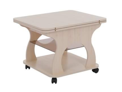 Журнальный столик Mebelson Купер MBS_CZ_009_1 60/120х70х51,6 см, дуб млечный