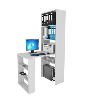 Компьютерный стол MFMaster Рикс-4+Рикс-5 Рикс-4 + Рикс-5 , белый