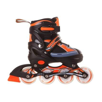 Раздвижные роликовые коньки RGX Fantom Orange LED подсветка колес L 38-41