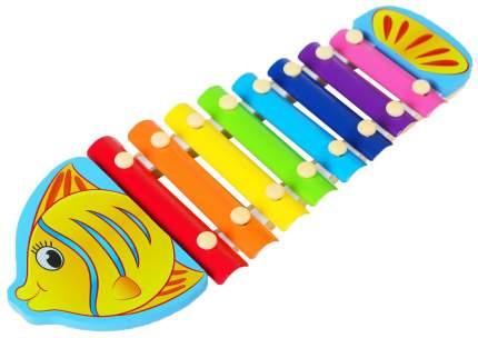 """Музыкальная игрушка """"Металлофон. Жираф"""", 8 тонов Sima-Land"""