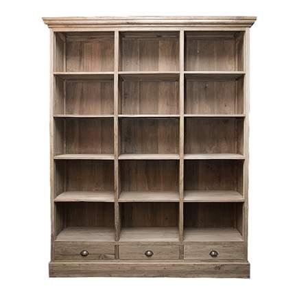 Платяной шкаф ROOMERS Санто BCS3S-T IG 170х40х210, коричневый