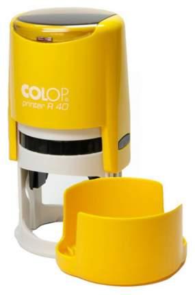 Оснастка автоматическая для печати Colop Printer R40 жёлтая