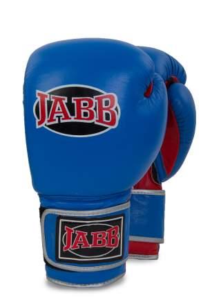 Перчатки боксерские Jabb JE-2010L 10 унц синий/красный