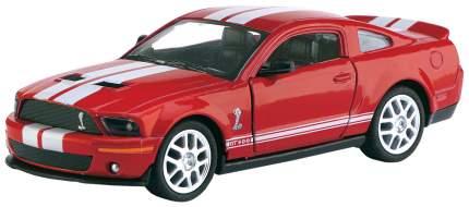 Машина металлическая Shelby GT-500, масштаб 1:44, открываются двери, инерция Kinsmart
