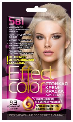 Краска для волос Фитокосметик Effect Color Жемчужный блондин 50 мл