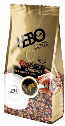 Кофе в зернах Lebo extra арабика 250 г