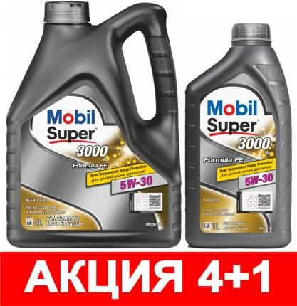 Моторное масло Mobil Super 3000 X1 Formula FE 5W-30 5л