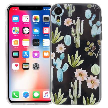 Чехол KAWAI для iPhone XR Кактусы