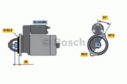 Стартер Bosch 0001109290