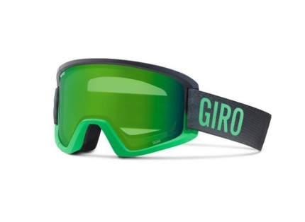 Горнолыжная маска Giro Semi 2016/2017 черная/зеленая M