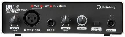 Аудиоинтерфейс Steinberg UR12 24-бит/192 кГц, USB 2.0