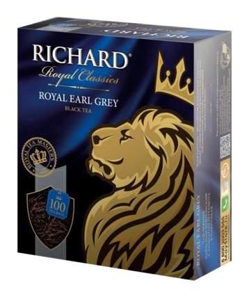 Чай черный Richard royal earl grey 100 пакетиков