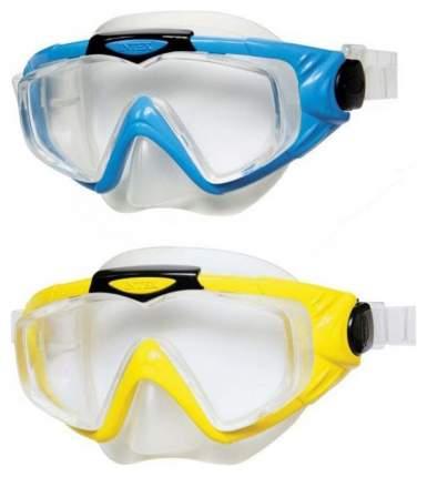 Плавательная маска Intex Аква Про 2 цвета, силиконовая, 14+ лет с55981