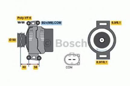 Генератор Bosch 0986047670