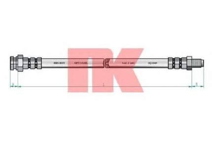 Тормозной шланг Nk 851918