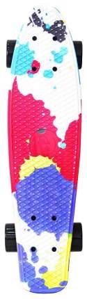 """Скейтборд Y-Scoo Fishskateboard Print 22"""" 401G-Sp с сумкой Splatter"""