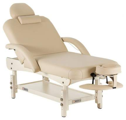Массажный стол стационарный US Medica Olimp beige