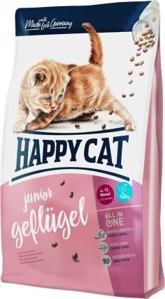 Сухой корм для котят Happy Cat Junior Geflugel, домашняя птица, 4кг