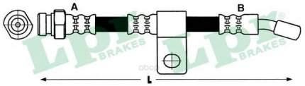 Шланг тормозной системы Lpr 6T48181 задний правый