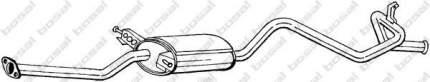 Глушитель выхлопной системы bosal 288217