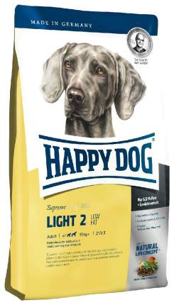 Сухой корм для собак Happy Dog Supreme Fit & Well Light Calorie Control, птица, 4кг