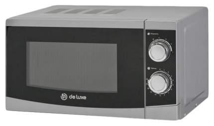 Микроволновая печь соло DeLuxe MF-RS20-E-S silver/black