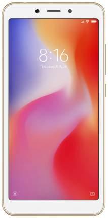 Смартфон Xiaomi Redmi 6 64Gb EU Gold