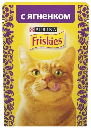Влажный корм для кошек Friskies, с ягненком в подливе, 24шт по 85г
