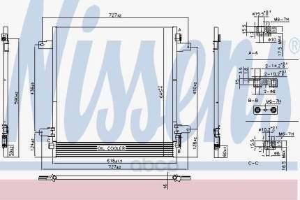 Радиатор кондиционера Nissens 940619