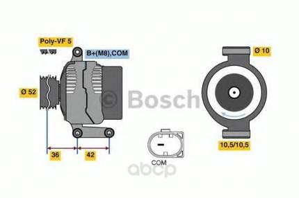 Генератор Bosch 0986081040