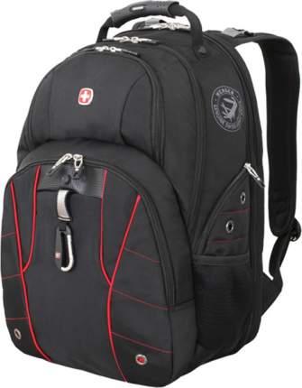 Рюкзак Wenger черный/красный 29 л