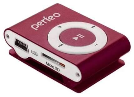 МР3-плеер с клипсой Perfeo Music Clip Titanium VI-M001 Бордовый