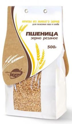 Пшеница Образ жизни резаная 500 г