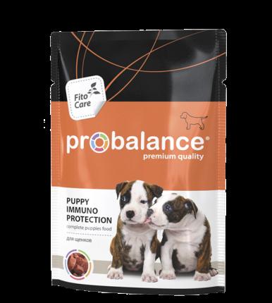 Корм для собак ProBalance PUPPY Immuno Protection для щенков, 25 шт по 100 гр
