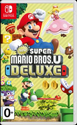 Игра New Super Mario Bros U Deluxe Стандартное издание для Nintendo Switch