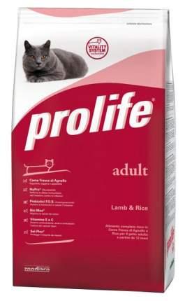 Сухой корм для кошек Prolife Adult, ягненок и рис, 0,4кг